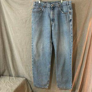 Vintage Levis Mens Blue Straight Jeans 38 W 30 L